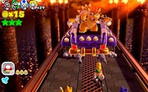 Bowser boss battle Super Mario 3D World Nintendo WiiU