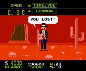 Nintendo arcade game Wild Gunman