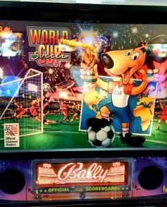 World Cup Soccer Pinball machine