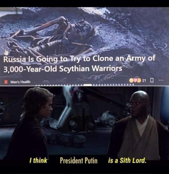 Memes clone army Russia