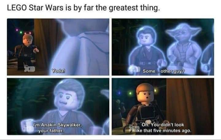 Memes Lego star Wars anakin Skywalker