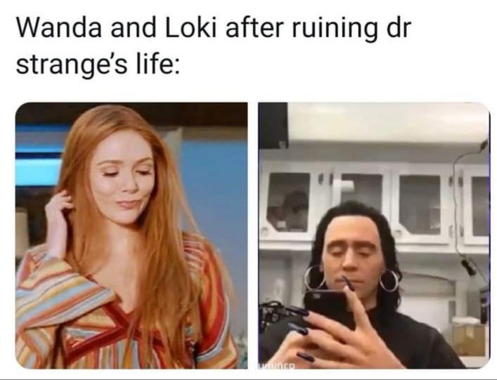 Memes wanda and Loki