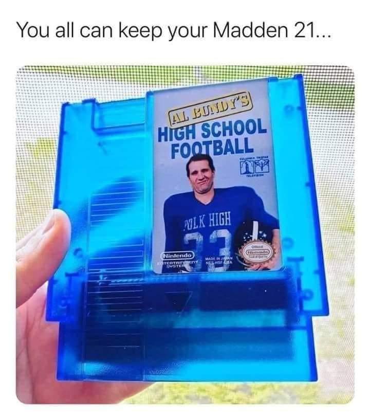 Memes al bundy high school football