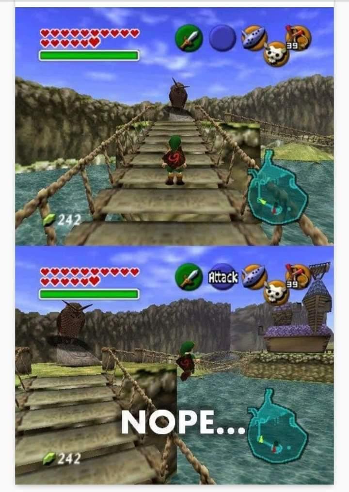 Memes owl the Legend of Zelda Ocarina of Time N64