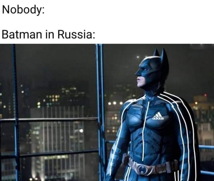 Memes batman in Russia