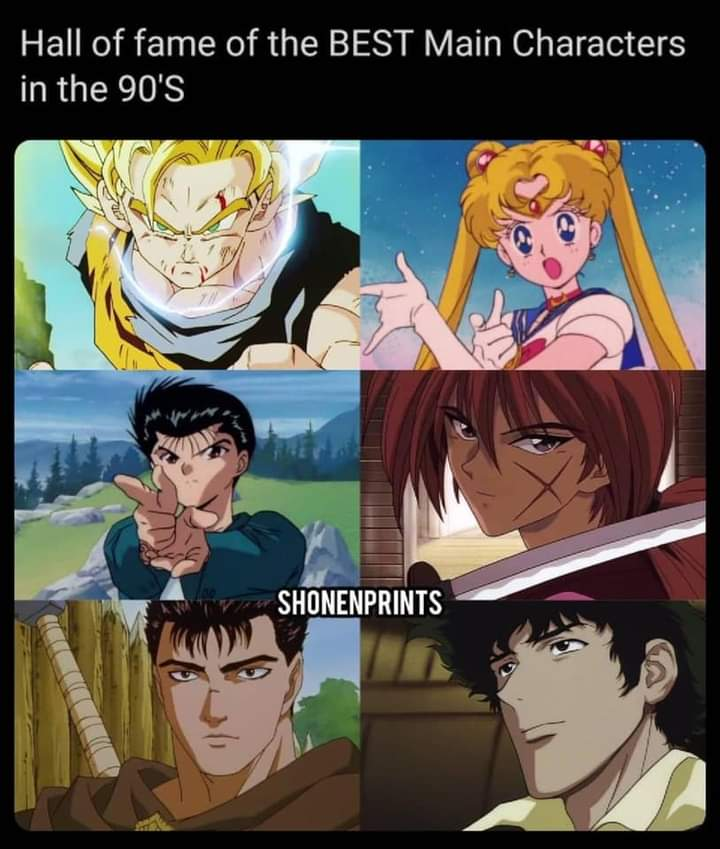 Memes 90s anime