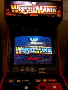 WWF WrestleMania arcade machine Midway