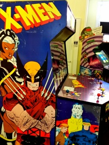 X-Men Arcade machine cabinet Konami