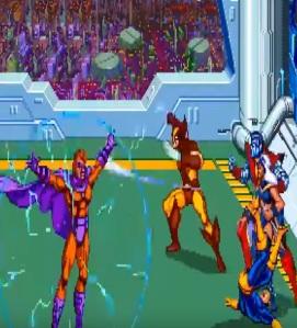 Final boss magneto X-Men Arcade Konami