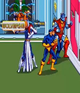 X-Men Arcade mystique boss battle Konami