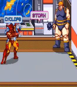 Blob boss battle X-Men Arcade Konami