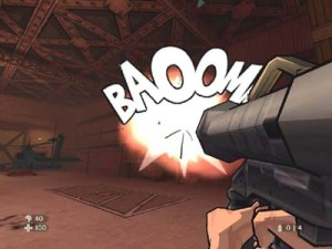 Rocket launcher XIII xbox video game