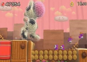 Giant cow Yoshi Yoshi's Woolly World WiiU Nintendo