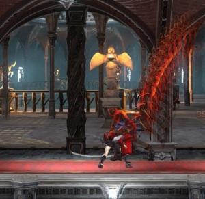 1st boss battle Zangetsu Bloodstained ritual of the night Nintendo Switch Xbox One PS4
