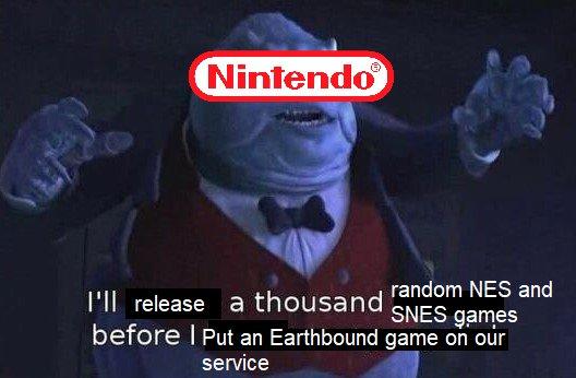 Memes earthbound Nintendo Switch online