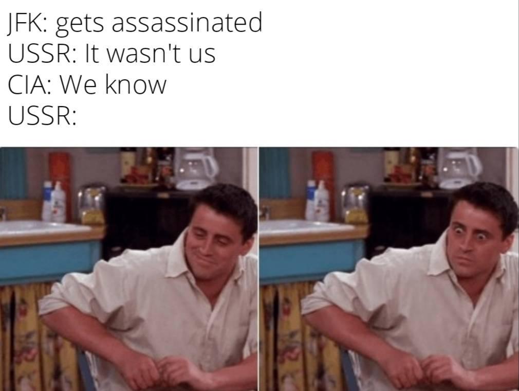 Memes jfk assassination ussr Soviet Union