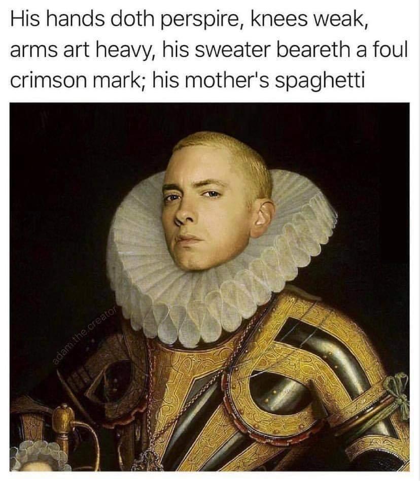 Memes Renaissance Eminem
