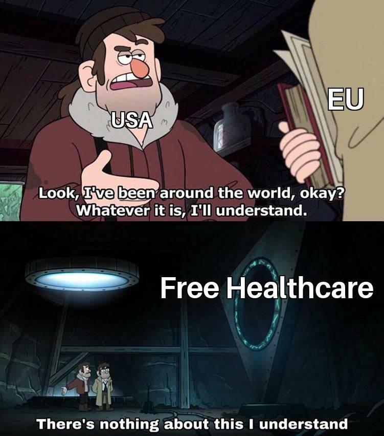 Memes free Healthcare America
