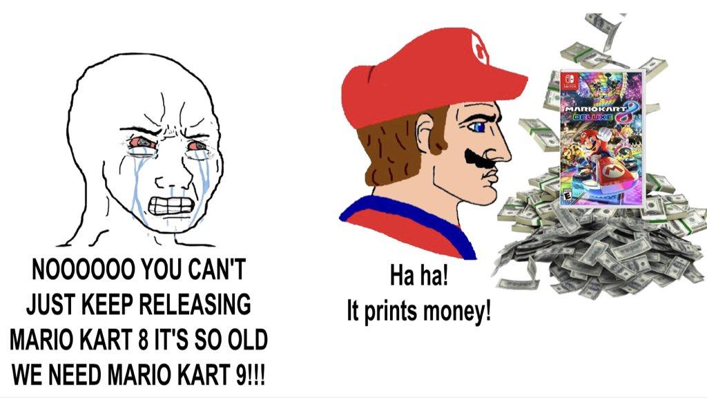 Memes Mario Kart 8