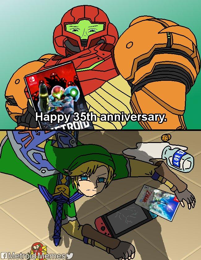 Memes Metroid dread