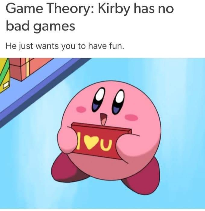 Memes Kirby loves you