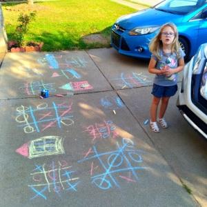 Sidewalk Chalk fun ideas