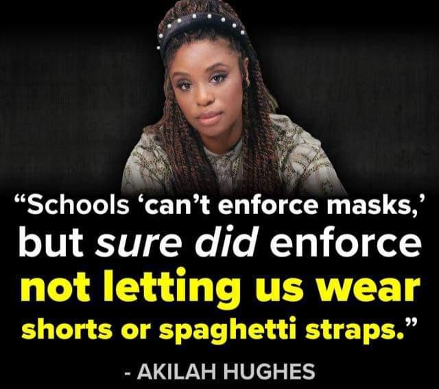 Memes school mask mandate