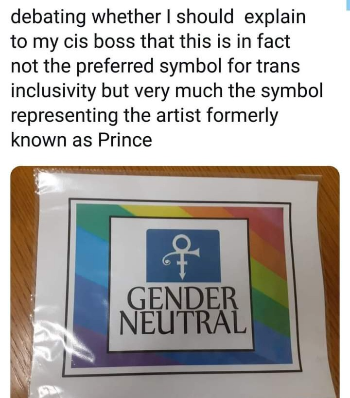 Memes gender neutral artist formerly known as prince