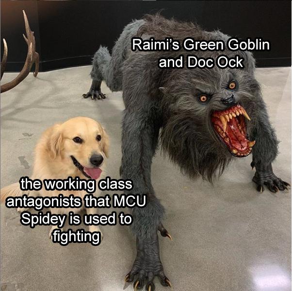 Memes green Goblin mcu