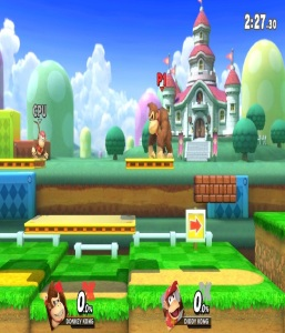 3D Land stage super Smash Bros ultimate Nintendo Switch