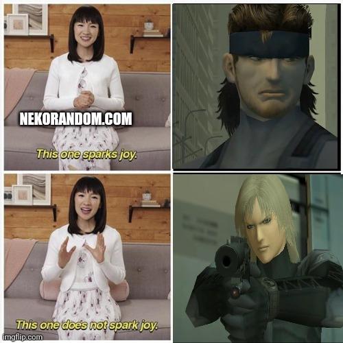 Memes metal gear solid 2 snake and raiden Konami