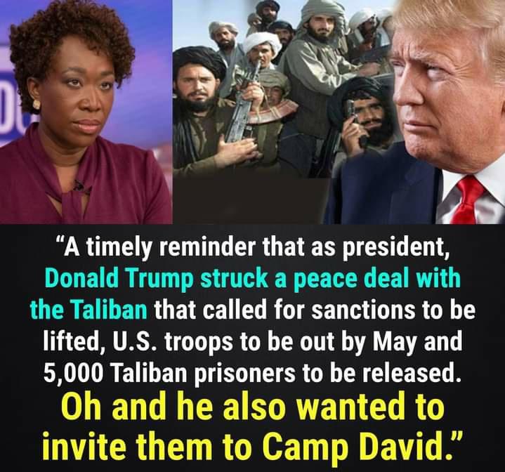 Memes Donald Trump peace deal taliban