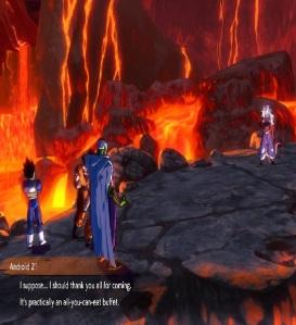 Vegeta goku Piccolo vs Android 21 dragon Ball FighterZ Nintendo Switch Xbox One PS4