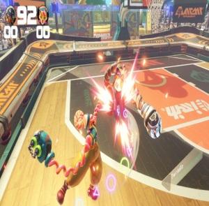 Lola pop vs twintelle basketball arms Nintendo Switch