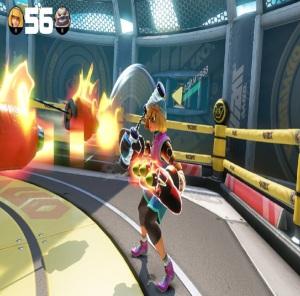 Min min rocket punch arms Nintendo Switch