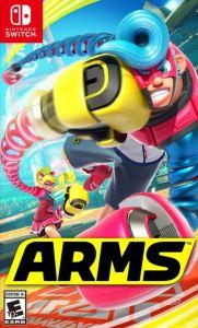 Arms Nintendo Switch boxart