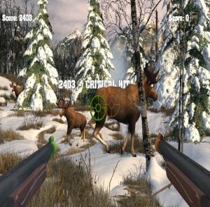 Moose hunting Big Buck Hunter Arcade Nintendo Switch