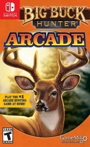 Big Buck Hunter Arcade Nintendo Switch boxart