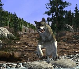 Wild wolf attack Big Buck Hunter Arcade Nintendo Switch