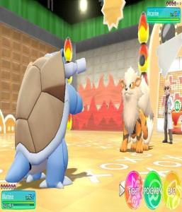Blaine gym arcanine Pokemon Let's Go Pikachu/Eevee Nintendo Switch