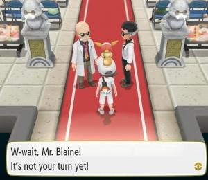 Blaine Pokemon Let's Go Pikachu/Eevee Nintendo Switch