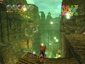 Cat game Blinx: The Time Sweeper Microsoft Xbox