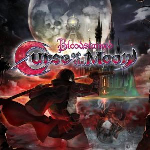 Bloodstained: Curse of the Moon Nintendo Switch Xbox One PS4 logo