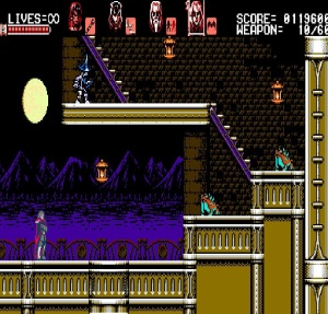 Gebel under the moon Bloodstained: Curse of the Moon Nintendo Switch Xbox One PS4