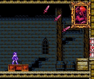 Miriam throwing knives Bloodstained: Curse of the Moon Nintendo Switch Xbox One PS4