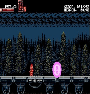 Zangetsu meets Miriam Bloodstained: Curse of the Moon Nintendo Switch Xbox One PS4