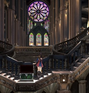 Bloodstained: Ritual of the Night castle exploration Xbox One PS4 Nintendo Switch