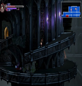 Running up the castle Bloodstained: Ritual of the Night Nintendo Switch Xbox One PS4