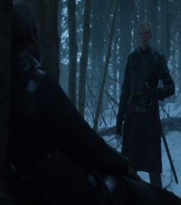 Brienne of Tarth kills stannis baratheon game of Thrones HBO