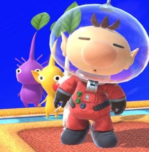 Captain Olimar super Smash Bros ultimate Nintendo Switch Pikmin